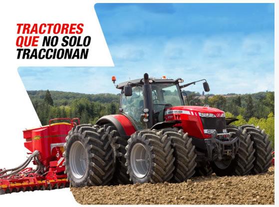 Tractores que no solo traccionan
