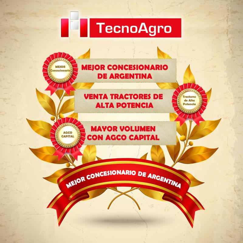 TECNOAGRO , PREMIO MEJOR CONCESIONARIO DE ARGENTINA